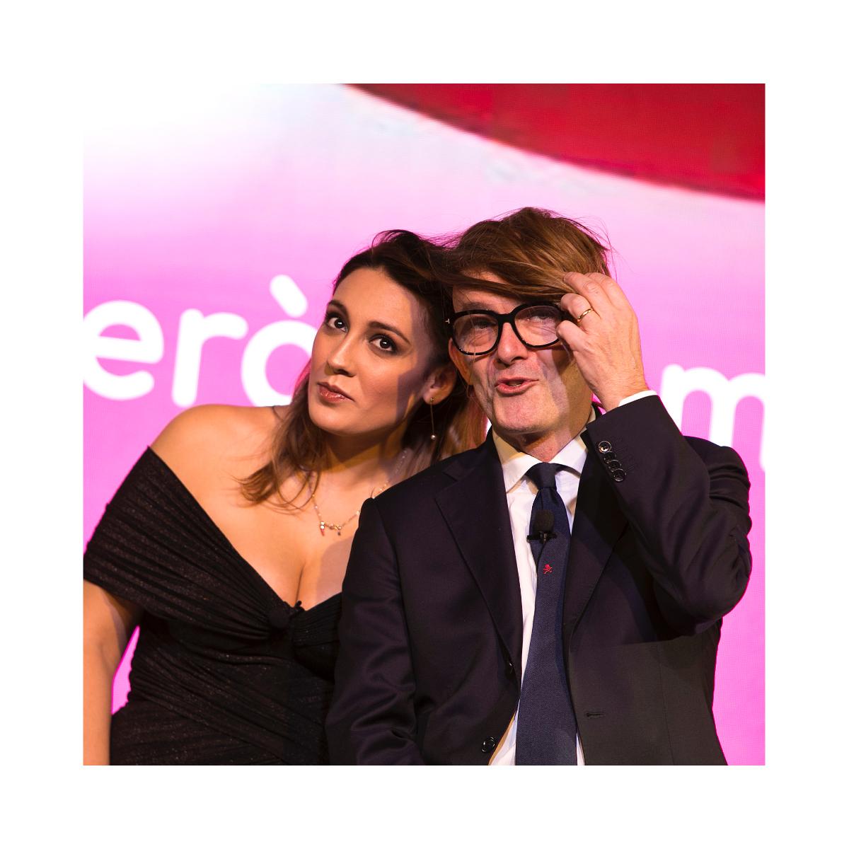 Luca Viscardi e Francesca Manzini