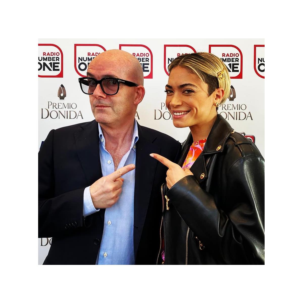 Elodie con Luca Viscardi