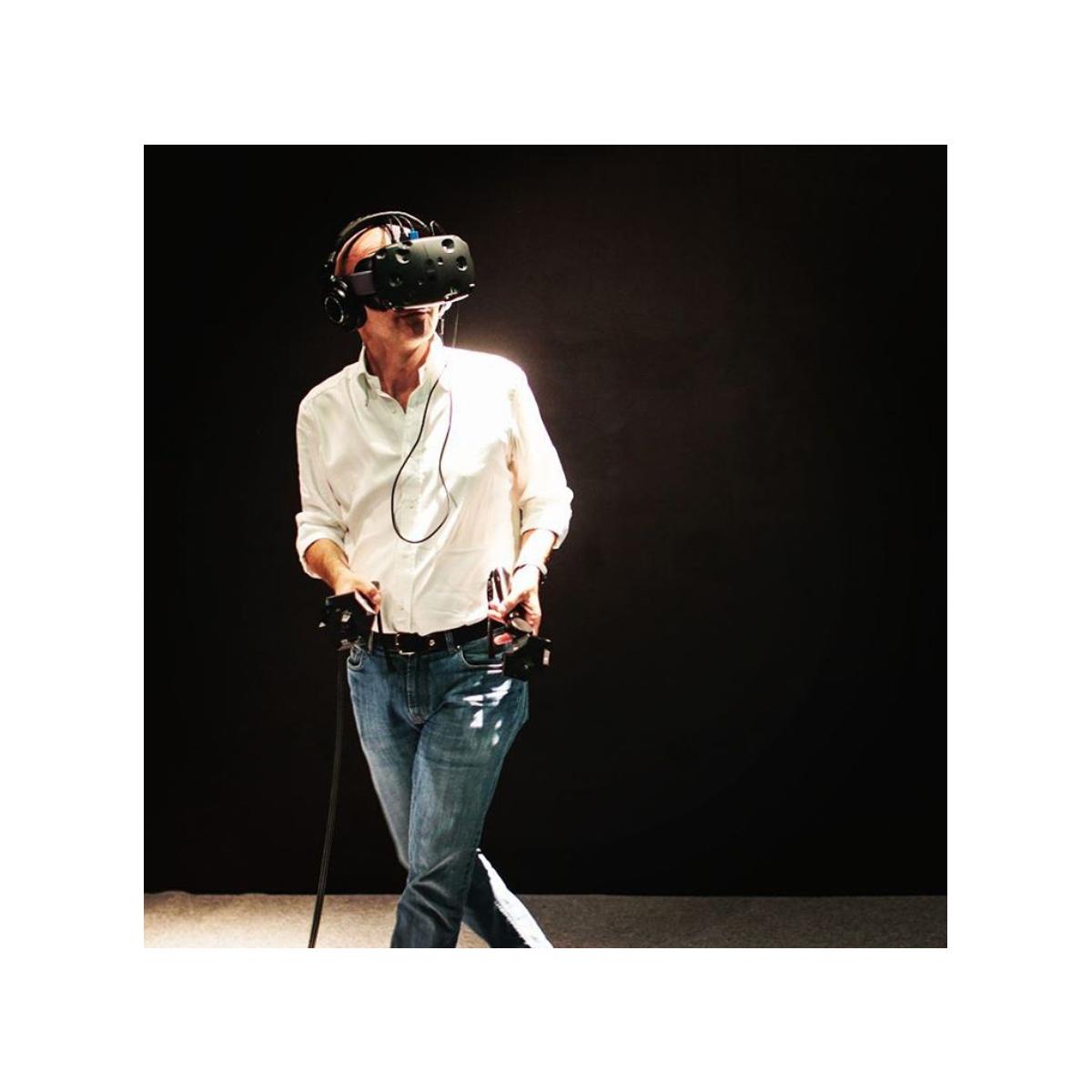 Luca Viscardi prova HTC Vive